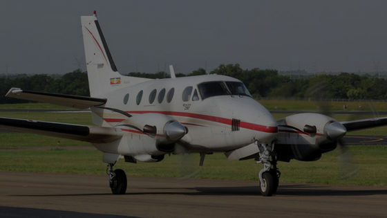 Fleet-Beechcraft-King-Air-C90-Chickatay-Inc-US-Aviation-Domestic-and-Foreign-Military-Flight-Training