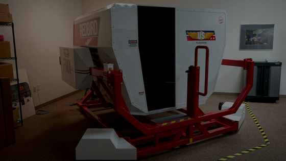 Fleet-Redbird-FMX-G1000-Simulator-Chickatay-Inc-US-Aviation-Military-Flight-Training